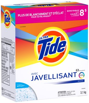 Tide Ultra Plus Bleach Alternative Original Scent Powder Laundry Detergent 114 oz. Box