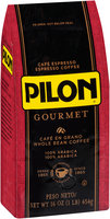 Pilon® Gourmet Whole Bean Espresso Coffee 16 oz. Bag