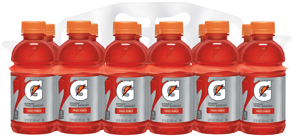 Gatorade® G® Series Perform Fruit Punch Sports Drink 12 fl. oz. Bottle
