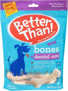 Better Than!™ Bones + Dental Care Premium Dog Treats 8 oz. Bag