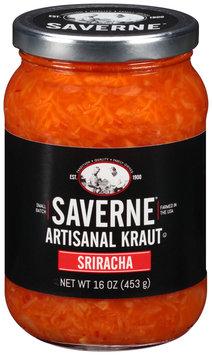 Saverne® Sriracha Artisanal Kraut 16 oz. Jar