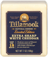 Tillamook® Extra Sharp White Cheddar 7 oz. Block