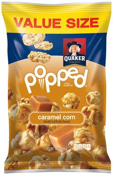 Quaker® Popped® Caramel Corn Rice Snacks 16.3 oz. Bag