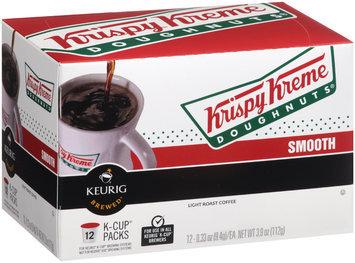 Krispy Kreme® Smooth Light Roast Coffee 12-0.33 oz. K-Cup® Packs