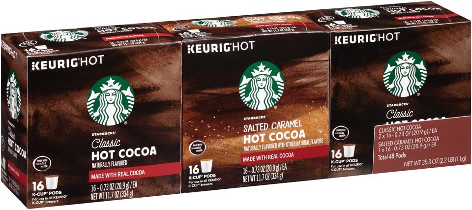 Starbucks Hot Cocoa Variety Pack K-Cups