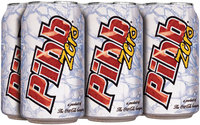 Pibb Zero 6 pk, 12 oz Cans