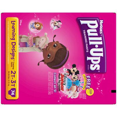 HUGGIES® Pull-Ups® Learning Designs® 2T-3T Girls Training Pants 74 ct Box
