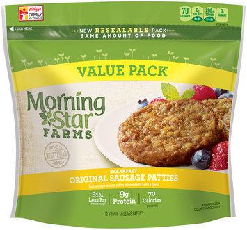 MorningStar Farms® Breakfast Original Sausage Patties