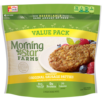 MorningStar Farms® Breakfast Original Sausage Patties