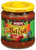 Stater Bros. Chunky Medium Salsa 15.5 Oz Jar