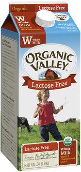 Organic Valley® Lactose Free Whole Organic Milk .5 gal. Carton