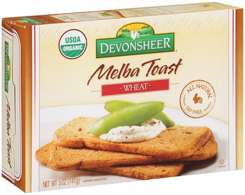 Devonsheer® Melba Toast Wheat 5 oz. Box