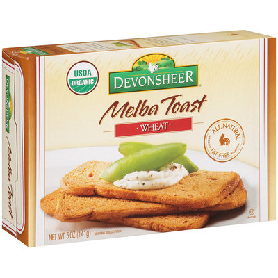 Devonsheer® Melba Toast Wheat 5 oz. Box
