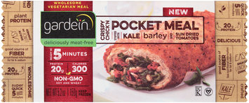 gardein™ Crispy Chick'N Pocket Meal 5.2 oz. Pouch