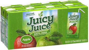 Juicy Juice® Apple No Added Sugar 100% Juice 8-4.23 fl. oz. Package