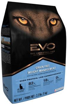 EVO Weight Management Adult Cat Food 2.2 lb. Bag
