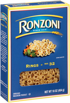 Ronzoni® Rings 16 oz. Box