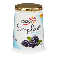 Yoplait® Simplait Blackberry Yogurt
