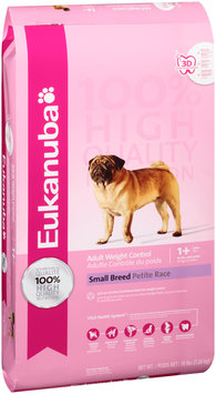 Eukanuba® Adult Weight Control Small Breed Dog Food 16 lb. Bag