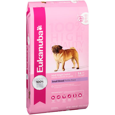 Eukanuba® Adult Weight Control Small Breed Dog Food 16 lb. Bag
