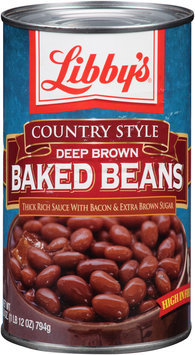Libby's® Country Style Deep Brown Baked Beans 28 oz. Can