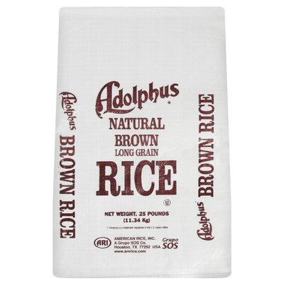 Adolphus Long Grain Brown Rice 25 Lb Bag