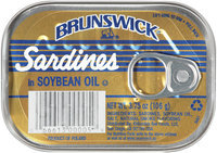Brunswich Sardines in Soybean Oil 3.75 oz