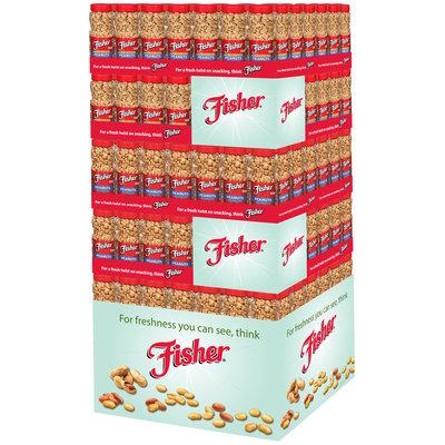 Fisher® Dry Roast & Dry Roast/Lightly Salted Peanuts 180 ct Jars 1/4 Pallet