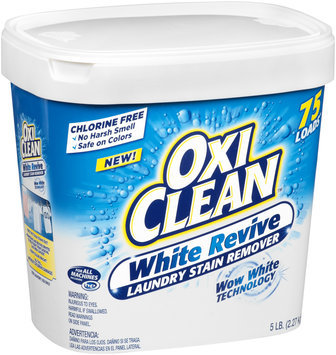 Oxi Clean™ White Revive Laundry Stain Remover 5 lb. Tub