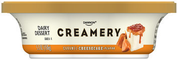 Dannon® Creamery Caramel Cheesecake Dairy Dessert