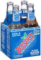 Zevia® Zero Calorie Cola 4-12 fl. oz. Bottles
