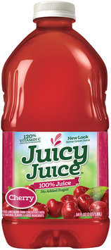 Juicy Juice® Cherry No Added Sugar 100% Juice 64 fl. oz. Bottle