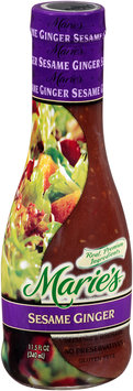 Marie's® Sesame Ginger Dressing and Marinade 11.5 fl. oz. Glass Bottle