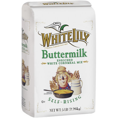 White Lily Buttermilk Enriched White Self-Rising Cornmeal Mix