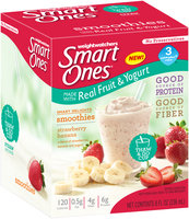 Weight Watchers Smart Ones® Smart Delights Strawberry Banana Smoothies 8 fl. oz. Box