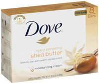 Dove® Purely Pampered Shea Butter 8-4 oz. Beauty Bars