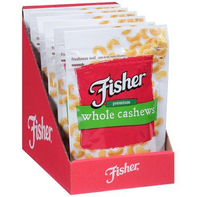 Fisher® Premium Whole Cashews 5 oz. Pouch