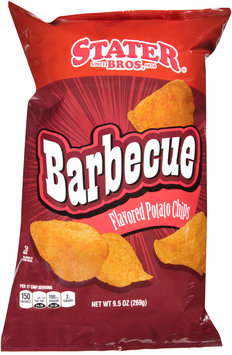 Stater Bros.® Barbecue Flavored Potato Chips 9.5 oz. Bag