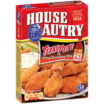 House Autry® Texas Pete® Wing Breading Mix 6 oz. Box