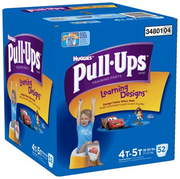 Huggies® Pull-Ups® Training Pants with Learning Designs® for Boys 4T-5T 52 ct Box