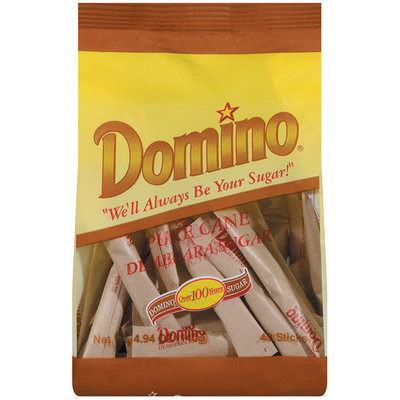 Domino Pure Cane Demerara Sugar Sticks