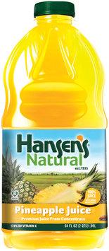 Hansen's® Natural Pineapple 100% Juice 64 fl. oz. Bottle