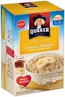 Quaker® Banana & Maple Instant Oatmeal 8-1.5 oz. Packets