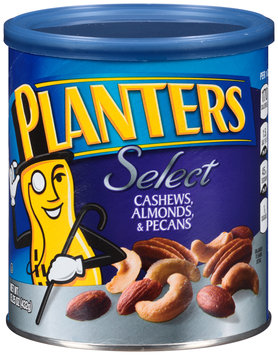 Planters Select Cashews, Almonds & Pecans