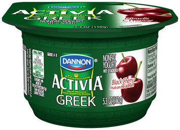 Activia Black Cherry Greek Yogurt 5.3 oz. Cup