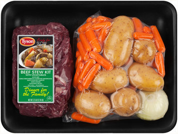 Tyson® Beef Stew Kit with Vegetables 37.5 oz. Tray