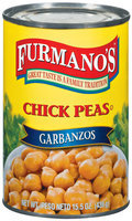 Furmano's  Chick Peas 15.5 Oz Can