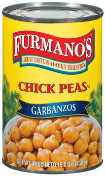 Furmano's  Chick Peas 15.5 Oz Can