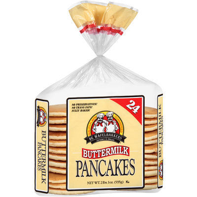 De Wafelbakkers Janssen & Meyer® Buttermilk Pancakes