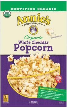 Annie's® Organic White Cheddar Popcorn 14 oz. Bag